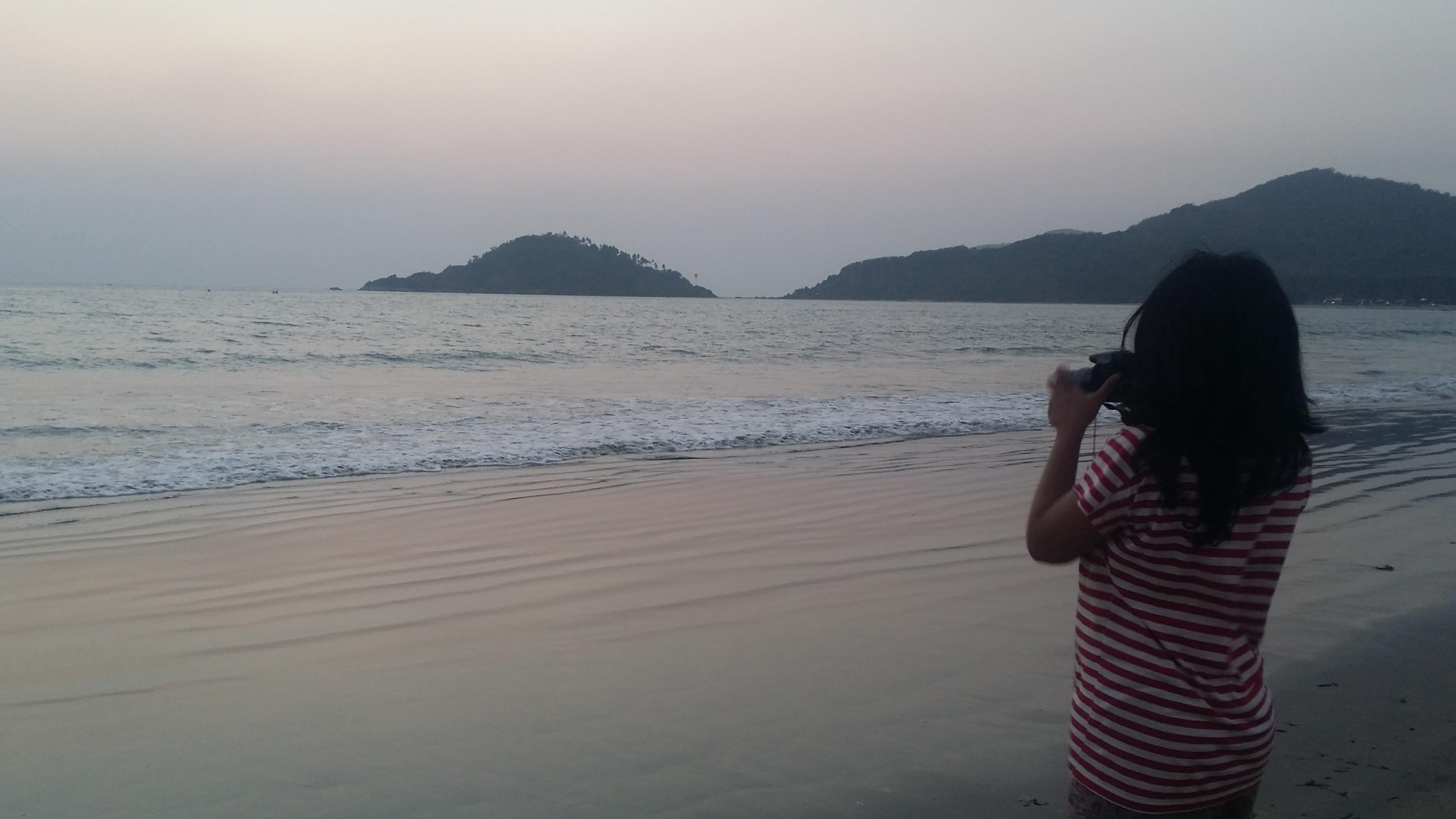 Susnet at Palolem beach Goa