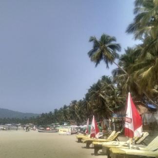Afternnon view of Palolem Beach