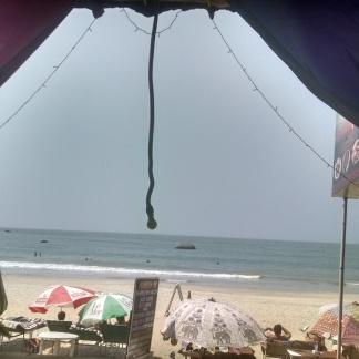 Afternoon view Canacona Goa