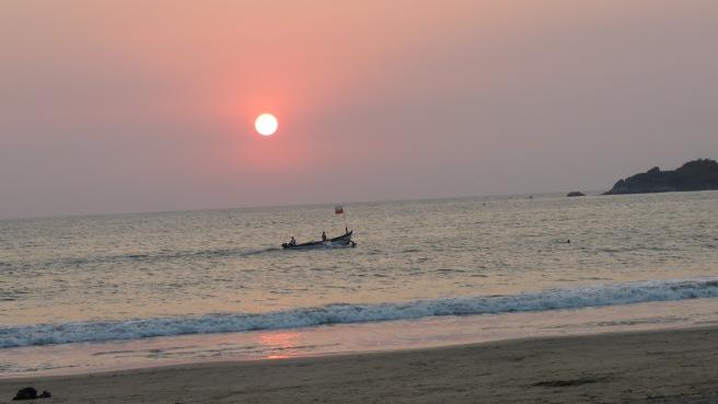Palolem sunset