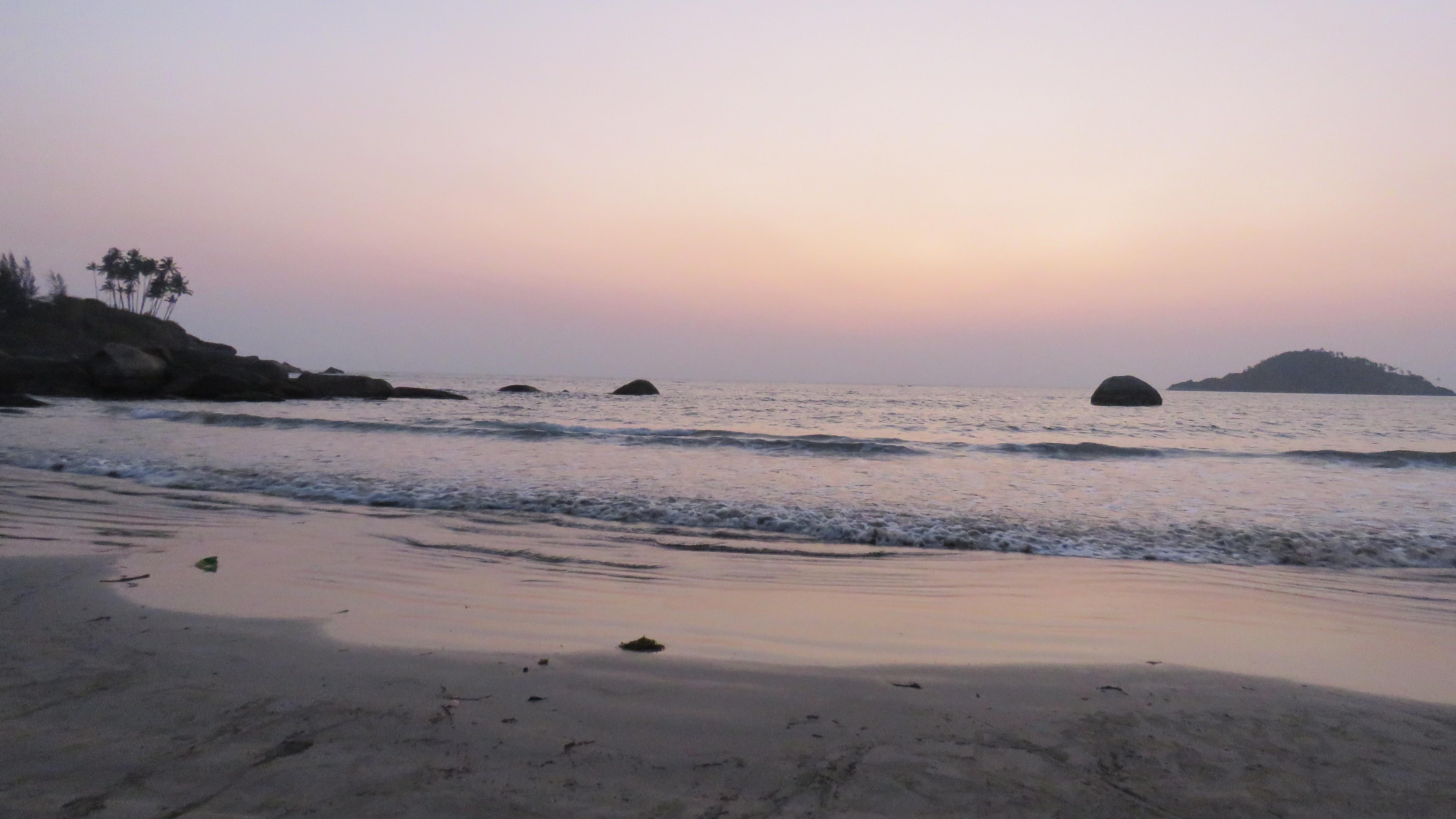 Indian ocean view, Canacona