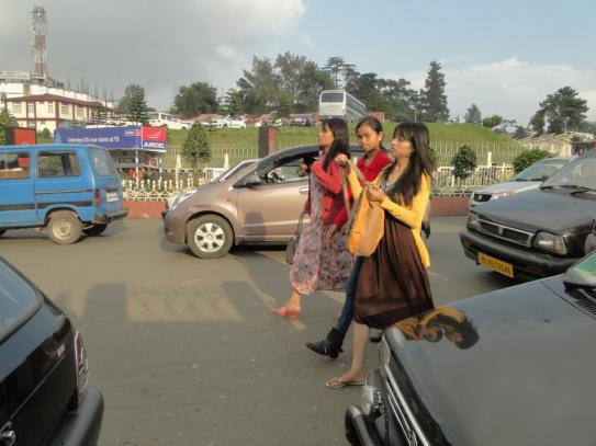 Women-Police-Bazaar-Shillong