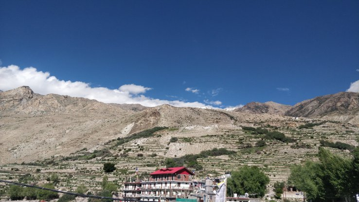 Kaza landscape, Spiti