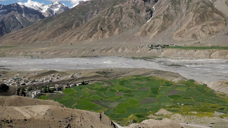 Spiti river valley