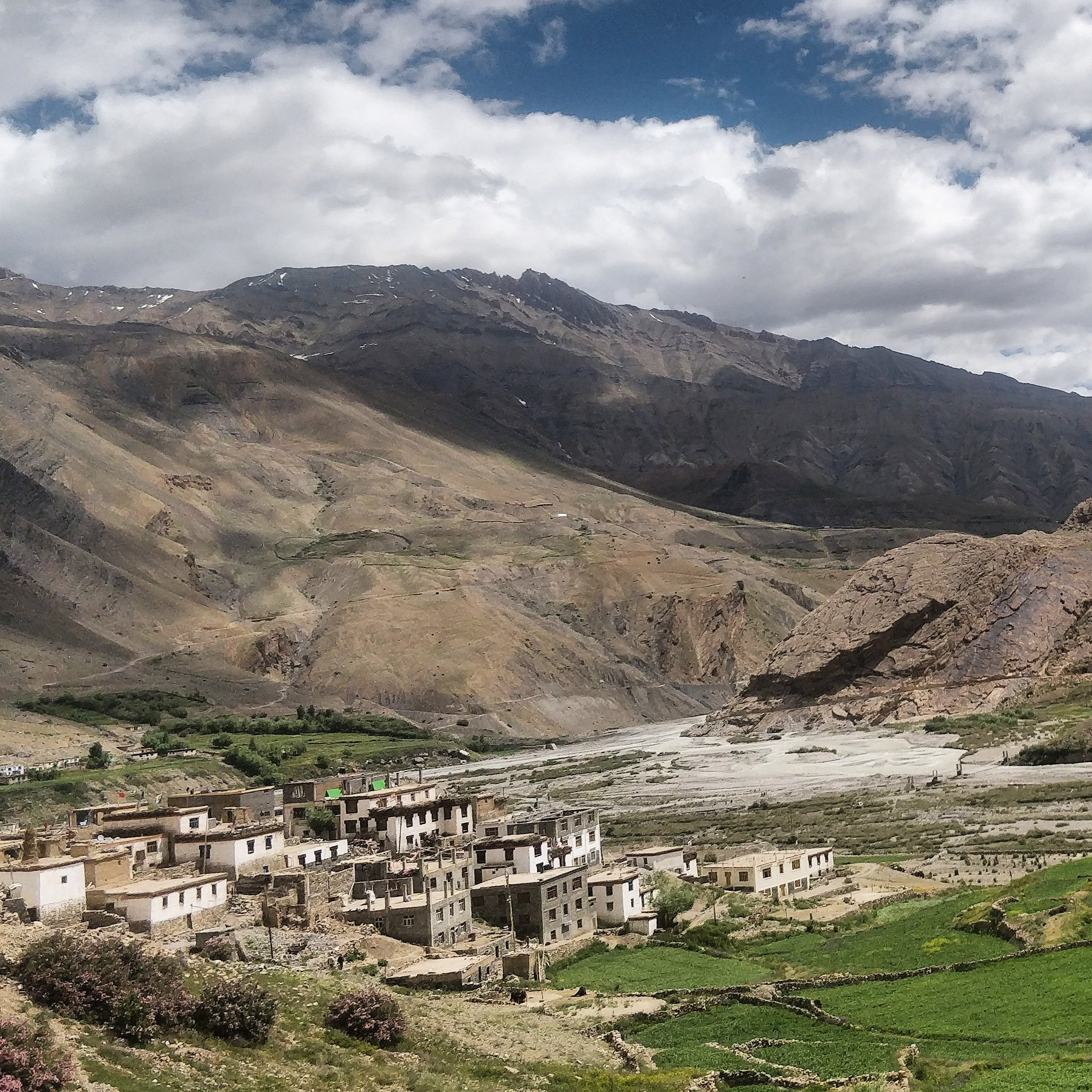 Spiti pin valley